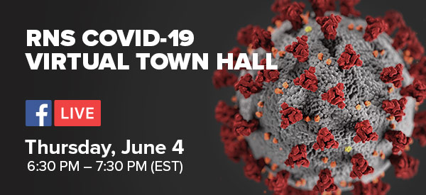 RNS Virtual Town Hall - June 4
