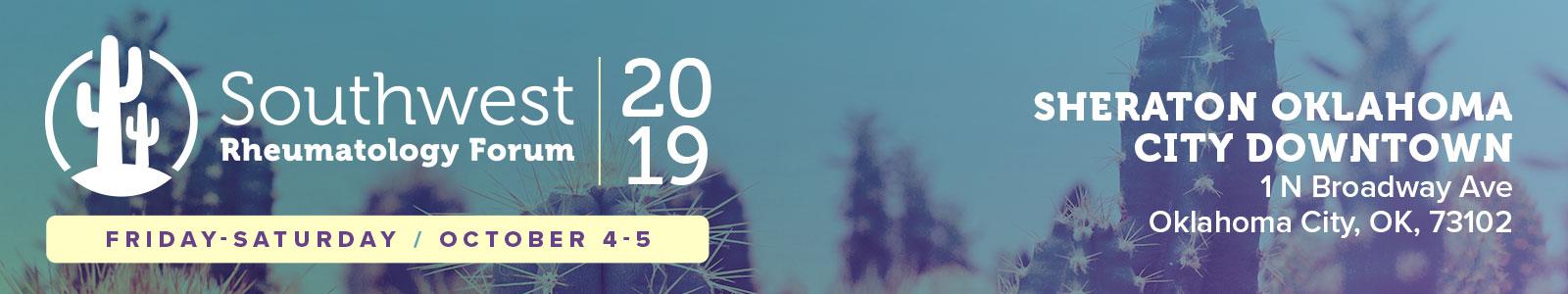 RNS Forum Series / SWRF 2019 / October 4-5