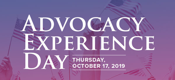 Advocacy Experience Day - October 17, 2019